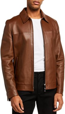 Roscoe Plover Leather Jacket