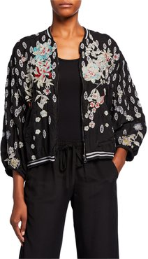 Nancy Reversible Bomber Jacket