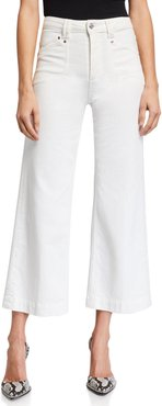 Anessa Cropped Wide-Leg Jeans