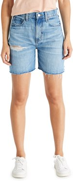 Skylar Distressed Denim Shorts