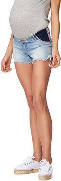 Maternity Karlie Mid-Rise Denim Shorts