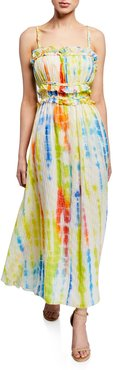 Honor Tie-Dye Sleeveless Maxi Dress