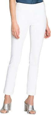 Petite Polished Wonderstretch Skinny Ankle Pants