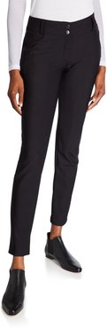 Susan Cozy Ankle-Zip Pants