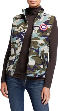 Freestyle Camo Puffer Vest