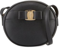 Vara Bow Round Zip Crossbody Bag