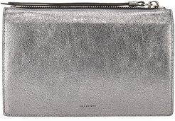 Miki Leather Chain Wallet Crossbody Bag