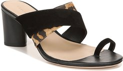 Zuri 65mm Mixed-Media Sandals