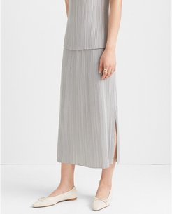 Cloud Micropleat Skirt in Size L