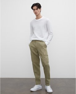 Green Twill Cargo Pants in Size 33