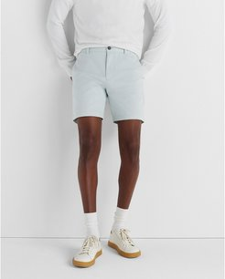 """Pale Blue Baxter Texture 7"""" Shorts in Size 28"""