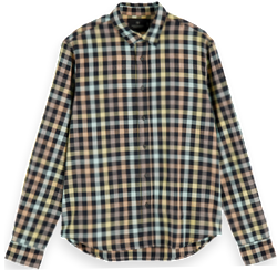 Checked Cotton Shirt Regular fit