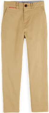 Peached Cotton Chinos