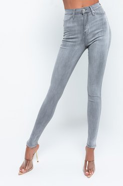Alessandra High Waisted Super Stretchy Skinny Jeans