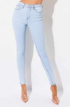 Mackenzie High Waisted Skinny Jeans