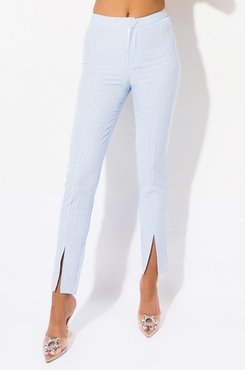 Wild Thoughts High Waisted Ankle Slit Pants