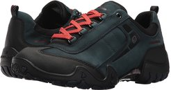 Fina Tex (Black Rubber/New Petrol G Nubuck) Women's Lace up casual Shoes