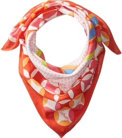 Dotted and Striped Bandana (Hibiscus) Scarves