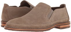 Bradley Perf (Taupe Suede) Men's Slip on  Shoes