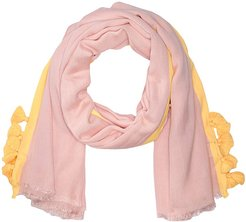 Cabana Stripe Modal Wrap (Rose Pink) Scarves