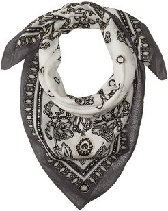 Ida Bay Cotton Bandana Scarf (Black) Scarves