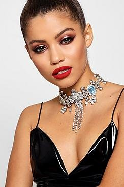 Kerry Statement Diamante Festival Choker