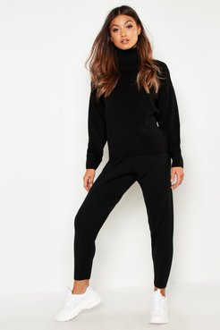 Roll Neck Knitted Lounge Set