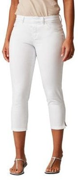 Kelly Pull-On Cropped Jeans