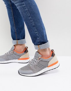 Greiman Knitted Sneakers In Gray - Gray