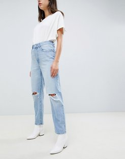 DL1961 Susie high rise tapered leg jean - Blue