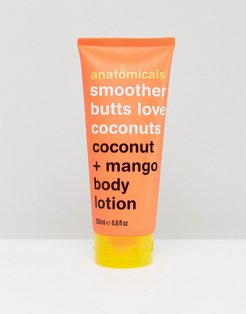 Smoother Butts Love Coconut- Body Lotion 200ml - Clear