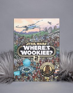 Star Wars Book: Where's the Wookie? - Multi