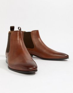 Chenadien chelsea boots in tan leather - Tan