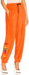 Rainbow Logo Sweatpants in Orange