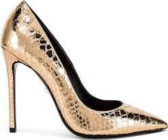 Alevi Carrie Pump in Metallic Gold