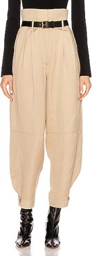 High Waisted Pant in Neutral