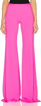 Evening Bootcut Pant in Pink