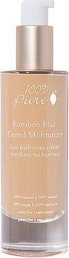 Bamboo Blur Tinted Moisturizer in Peach Bisque.