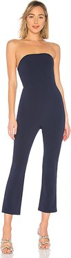 Collins Strapless Jumpsuit in Navy. - size XS (also in L,M,S,XXS)