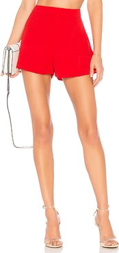 Cory Flutter Shorts in Red. - size XXS (also in XS)