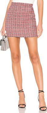 Betsey Mini Skirt in Red. - size L (also in XL)