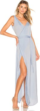 Emanuelle Dress in Blue. - size M (also in S,XS,L)