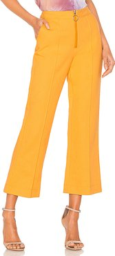 Lydie Trousers in Yellow. - size S (also in XS,M)