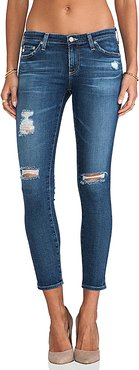 The Legging Ankle in Blue. - size 27 (also in 26,30)