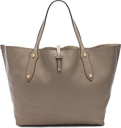 Isabella Large Tote in Grey.