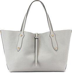 Small Isabella Tote in Gray.