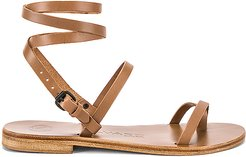 Anna Sandal in Brown. - size 38 (also in 37.5,38.5)