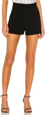 Donald High Waist Shorts in Black. - size 8 (also in 0,2,4,6)