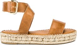 Espadrille in Brown. - size 38 (also in 35,36,37)