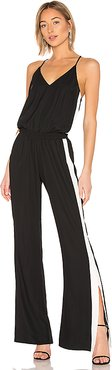 Track Jumpsuit in Black. - size S (also in M,L)